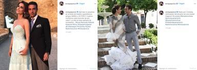 Enrique Ponce y Paloma en Instagram