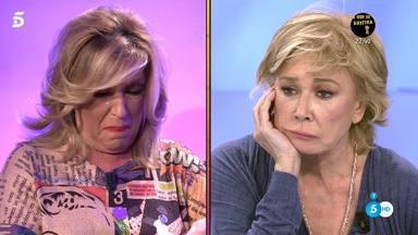 Mila Ximénez pide perdón entre lágrimas a Lydia Lozano
