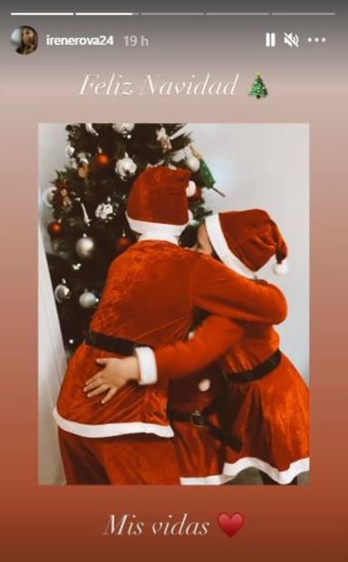 Tierna imagen hijos Kiko Rivera felicitación Navidad