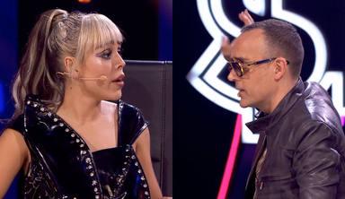 """Danna Paola manda callar a Risto Mejide en directo ante las risas de Isabel Pantoja: """"Te la tenía guardada"""""""