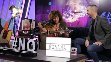 Esta semana, Rosana, no solo va a hablar de su disco con Antonio Hueso