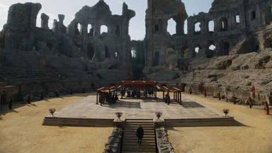 Las ruinas de Itálica (Sevilla) en Juego de Tronos