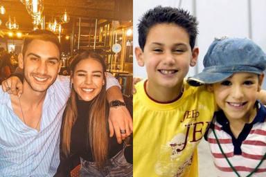 Danna Paola y Alejandro Speitzer ya coincidieron de pequeños y son grandes amigos