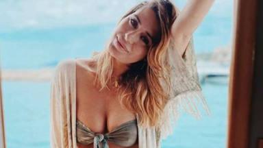 Elena Tablada muestra su cuerpo posparto sin filtros y con un posado en bikini