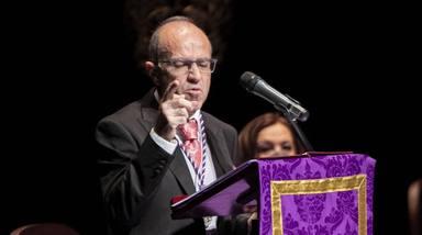 Emoción, sentimiento y esperanza en el pregón de la Semana Santa de Jaén 2021 a cargo de José Ibáñez