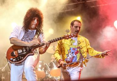 La magia de God Save The Queen durante el Concert Music Festival
