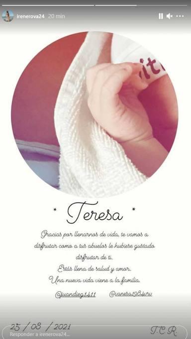 Irene Rosales anuncio
