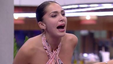 Sandra Pica, fuera de sí en medio de su bronca con Miguel Frigenti en Secret Story