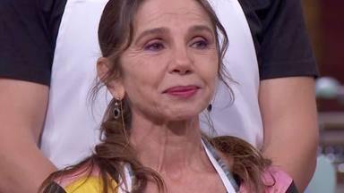 Victoria Abril se derrumba en 'MasterChef Celebrity' al recordar el drama que está atravesando su madre