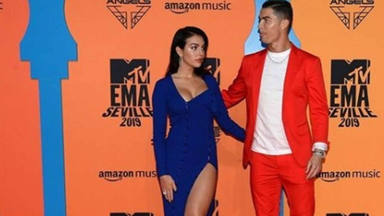 En tenso momento que no vimos entre Cristiano y Georgina Rodríguez en los MTV EMAs