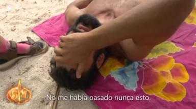 Jorge sufre un fuerte mareo en 'Supervivientes' después de quemarse los dedos con una olla