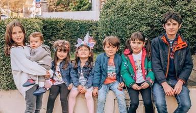 Aimar, Irati, Laia, Julen, Anne, Eider y Miren, los 7 hijos de Verdeliss