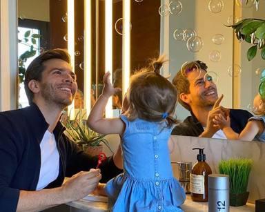 Marc Clotet junto a su hija Lia en una foto de su Instagram