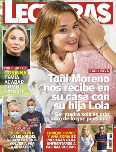 Toñi Moreno portada Lecturas