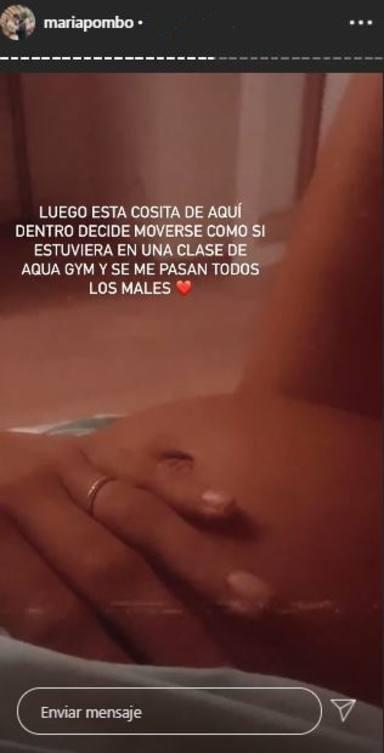 María Pombo embarazo Martín primer hijo esclerosis múltiple