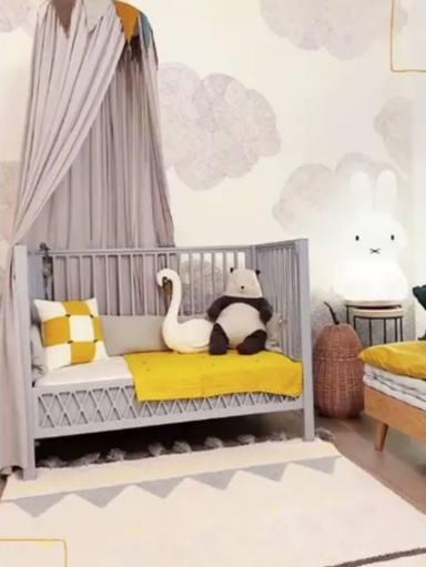 El cuarto de Bianca, la hija de Rosanna Zanetti y David Bisbal
