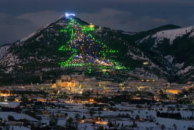 L'arbre de nadal més gran del món