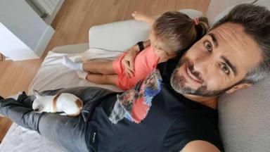 Roberto Leal y su hija