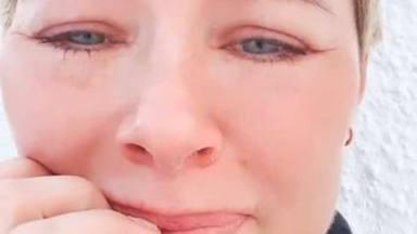Las lágrimas de Soraya Arnelas por los estragos de Filomena en su casa